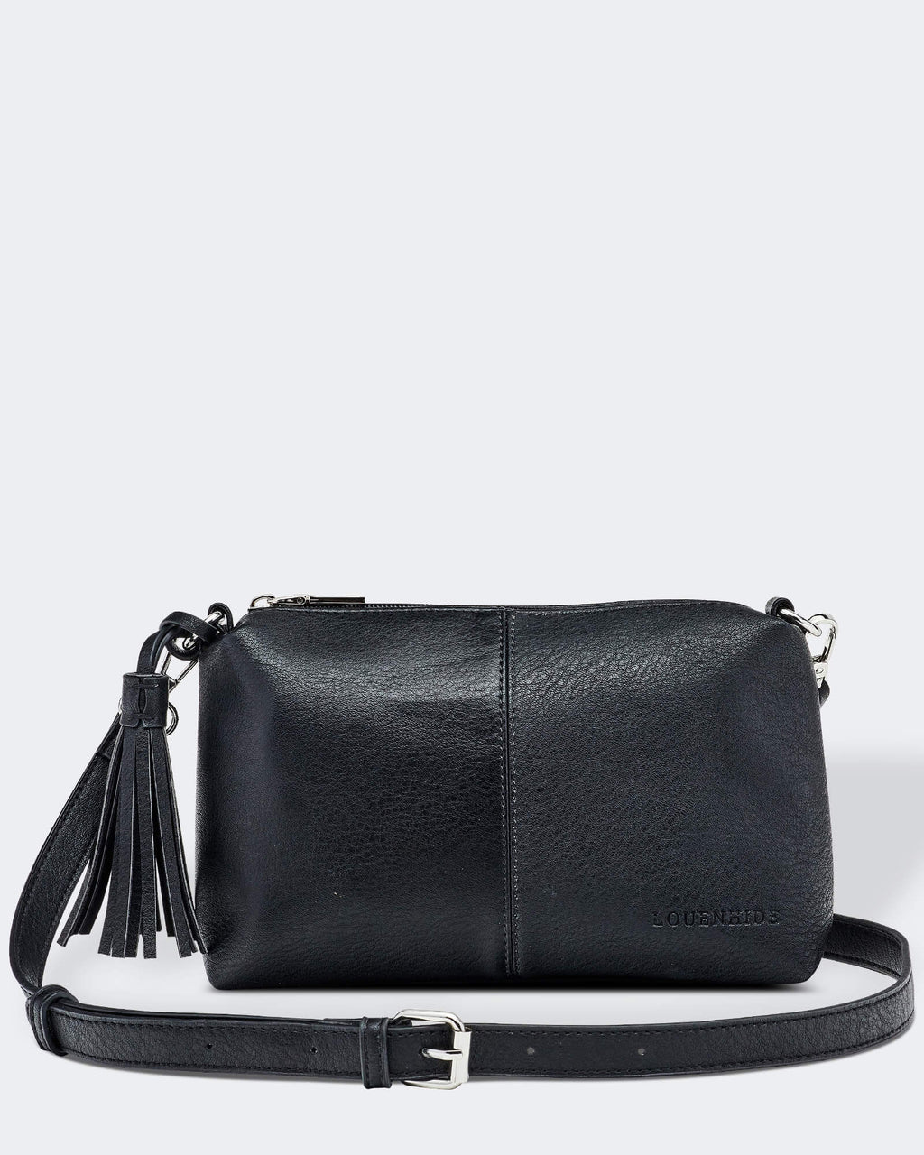 Baby Daisy Cross body Bag Louenhide Black PU