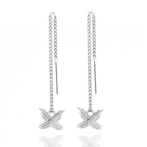 Boh Runga Micro Feather Kisses Earrings Sterling Silver