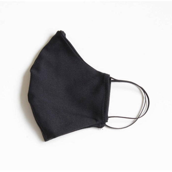 Adult Reusable Face Mask with Filter Pocket: Black- Includes 10 disposable filters
