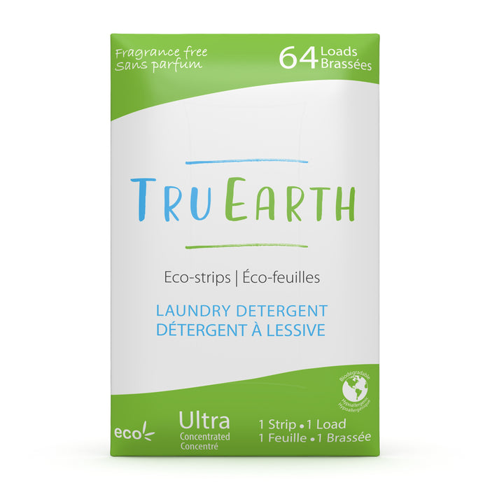 Tru Earth Eco-strip Laundry Detergent - 64 Loads
