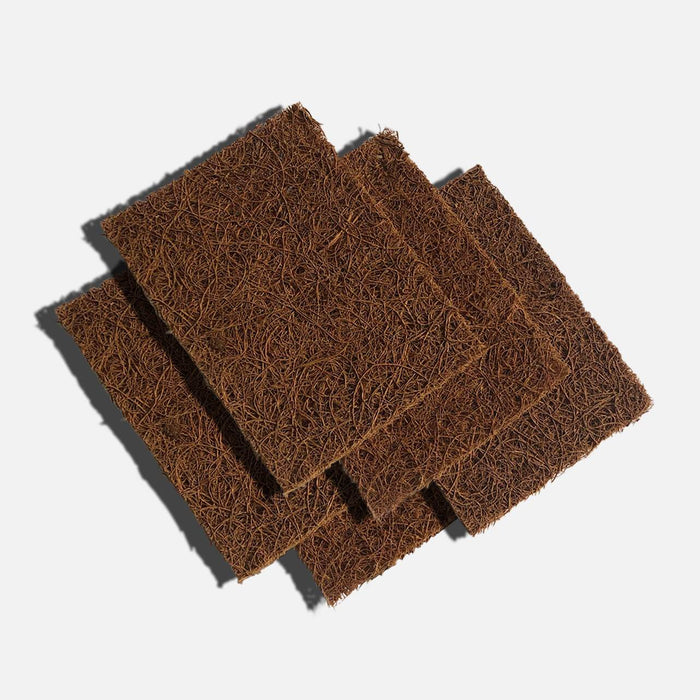 Biodegradable Coconut Kitchen Scourers - Pack of 5