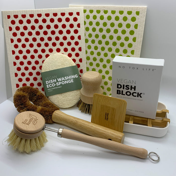 Dots Dish Washing Set
