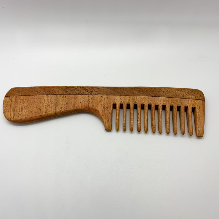Brush with Bamboo Thick Hair Neem Comb