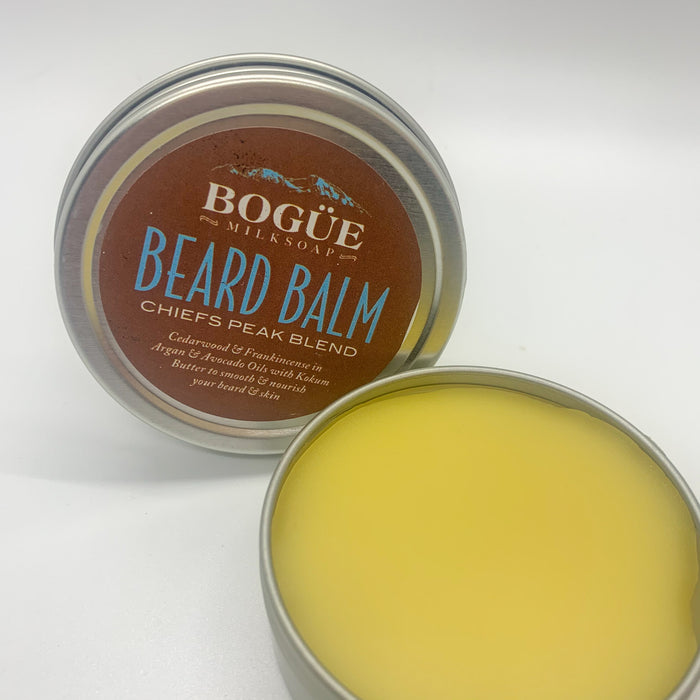 "Beard Balm ""Chiefs Peak"" Blend, Cedarwood, Rosemary"