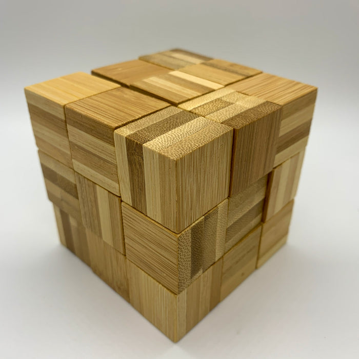 Square Roots Bamboo Puzzle/Brain Teaser