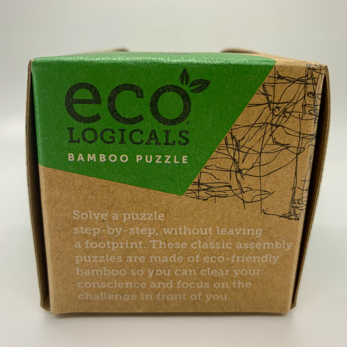 Barrely There Mini Bamboo Puzzle/Brainteaser