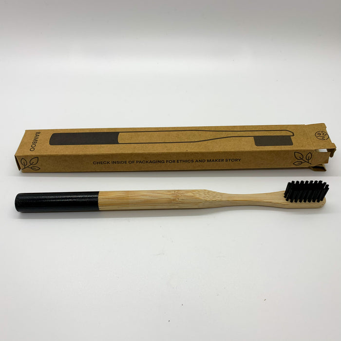 Zero Waste Club Adult Bamboo Toothbrushes
