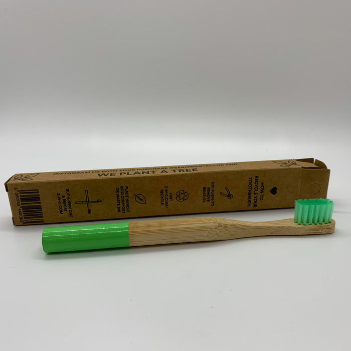 Zero Waste Club Kid's Bamboo Toothbrushes