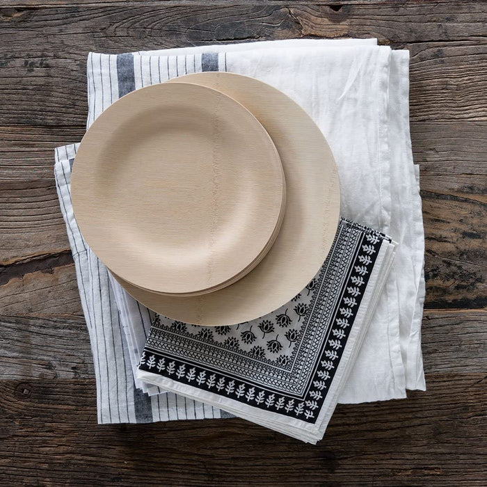 Veneerware® Round Bamboo Plates Size: 11'' Plates - Package Of 8