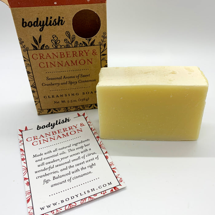 Cranberry Cinnamon Cleansing Soap