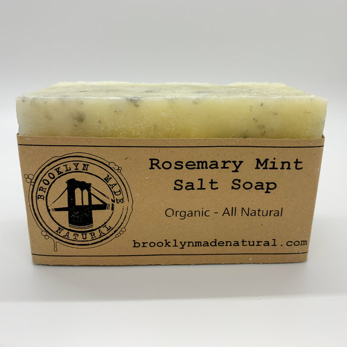 Organic Rosemary & Mint Salt Soap