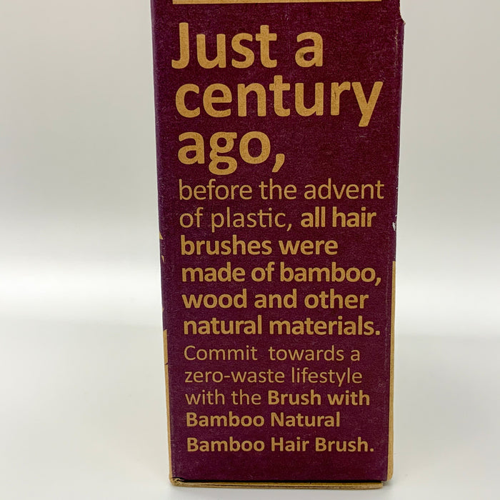 Brush with Bamboo Paddle Brush