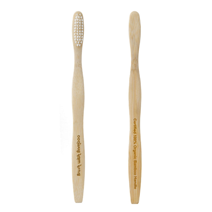 Natural Bamboo Toothbrush - Adult & Child Sizes