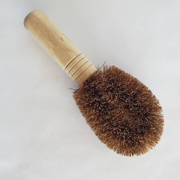 Mini Scrub Brush - Coconut Bristle, Zero Waste