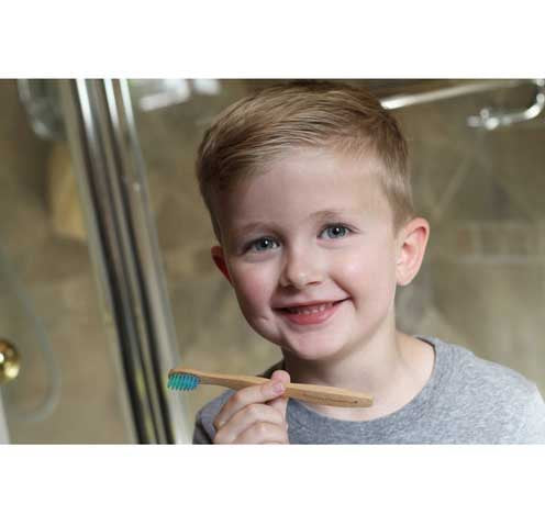 Bamboo Super Hero KIDS Toothbrush