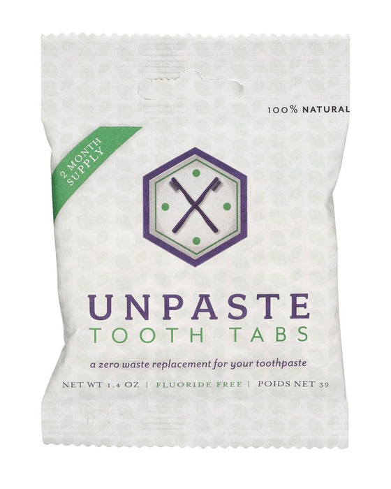 UNPASTE Toothpaste Tablets