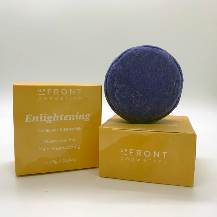 Upfront Cosmetics Purple Shampoo Bar for Blondes & Silvers