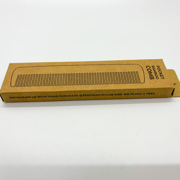 Bamboo Comb Travel Size