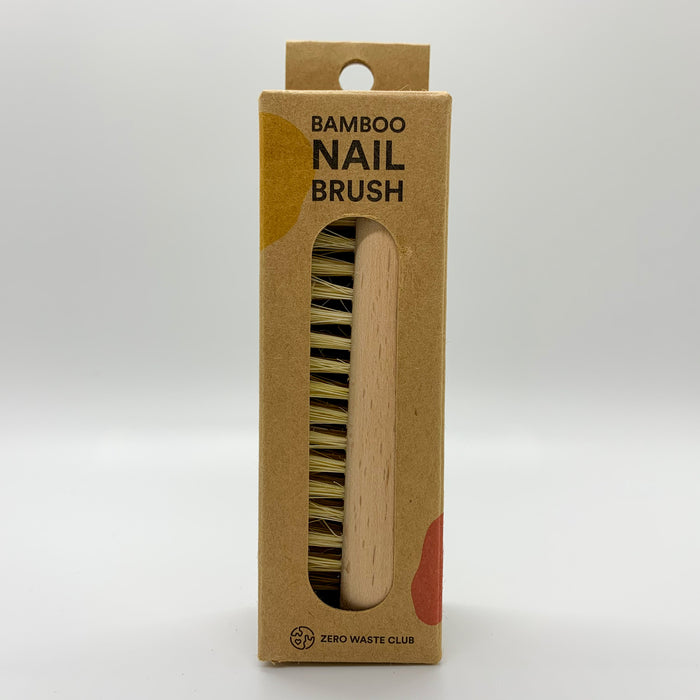 Zero Waste Club Natural Bamboo Nail Brush