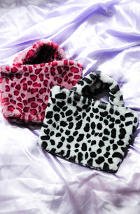 Cheeky Cheetah Faux Fur Bag
