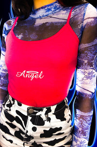 Charlie's Angel Dark Pink Cami Top