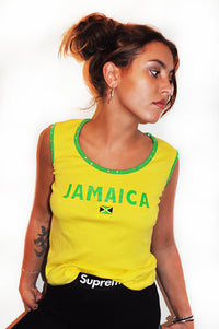 Jamaica Sunshine Sequin Top
