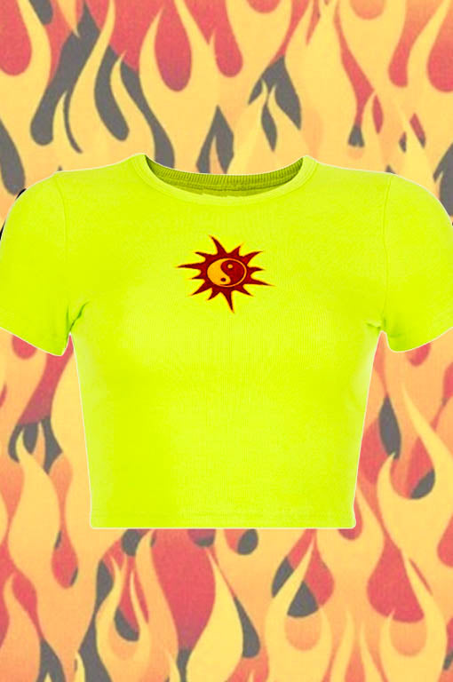 The Lime Green Witchcraft Tee