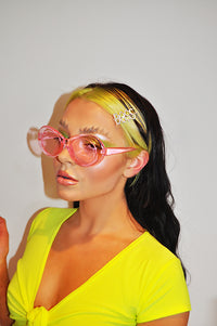 So Fetch Pink Sunglasses