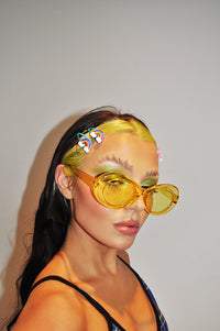 So Fetch Yellow Sunglasses