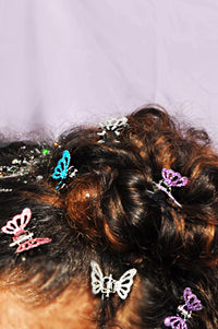 Princess Butterfly Clips