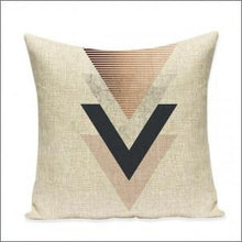 Retro Art Golden Cotton Linen Printed Square Pillowcase Nordic Design Cushions Home Decor Decorative Pillow Sofa Throw Pillows lcbenshop