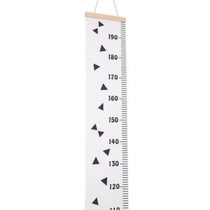Wooden Kids Height Chart Wall Sticker Black White Height Ruler Height Growth Chart Measure For Home Children Bedroom Decoration lcbenshop