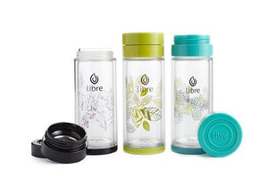 Libre Loose Leaf Tea Infusing Glass Mug