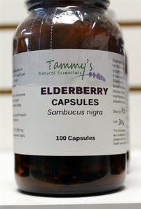 ELDER BERRY CAPSULES (100)