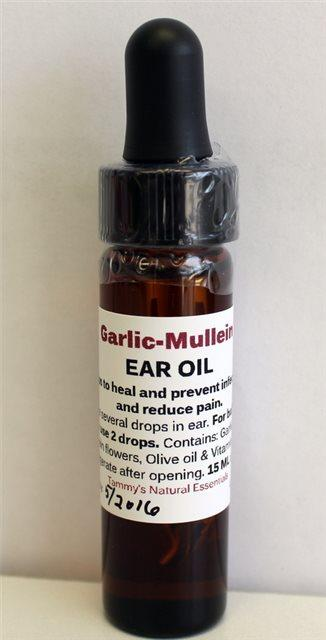 GARLIC MULLEIN EAR OIL