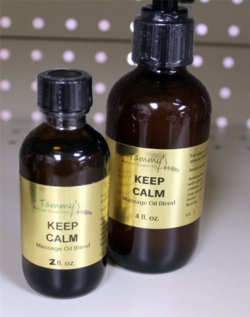 KEEP CALM MASSAGE/BATH OIL