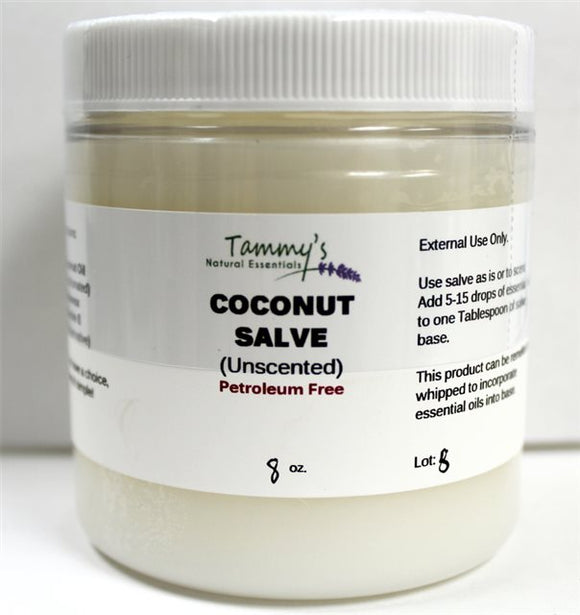 COCONUT SALVE BASE (UNSCENTED)