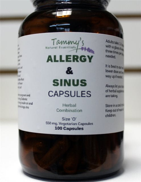 ALLERGY & SINUS HERBAL CAPSULES