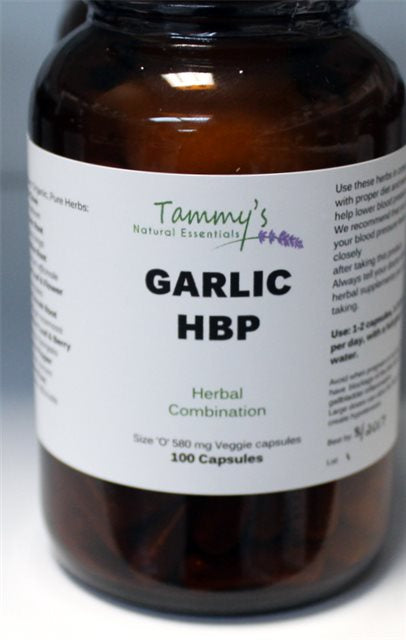 GARLIC HBP HERBAL CAPSULES