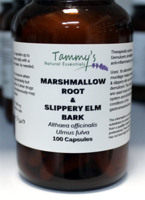 MARSHMALLOW ROOT & SLIPPERY ELM COMBINATION