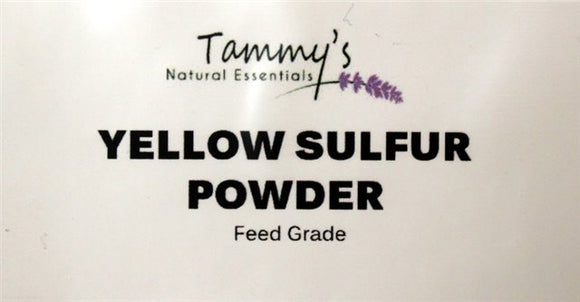 YELLOW SULFUR POWDER