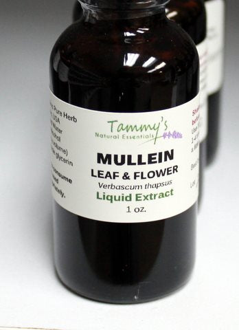 MULLEIN LEAF & FLOWER LIQUID EXTRACT