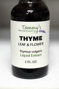THYME LEAF & FLOWER LIQUID EXTRACT