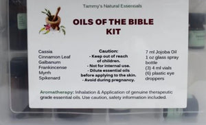 Oils Of The Bible Kit