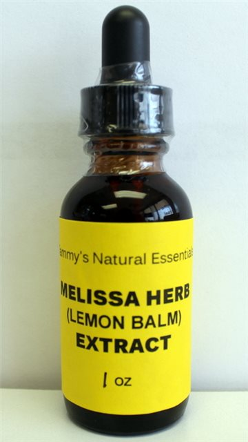MELISSA (LEMON BALM) Liquid Extract
