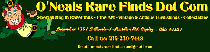 ONeals Rare Finds Fine Art & Antiques Gallery