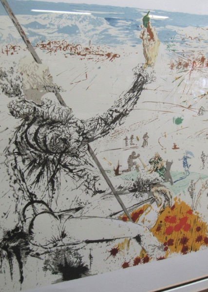 L' AGE D'OR DE DON QUIXOTE  SALVADOR DALI