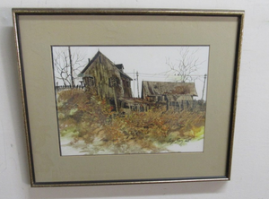 BORYS BUZKIJ Original Watercolor