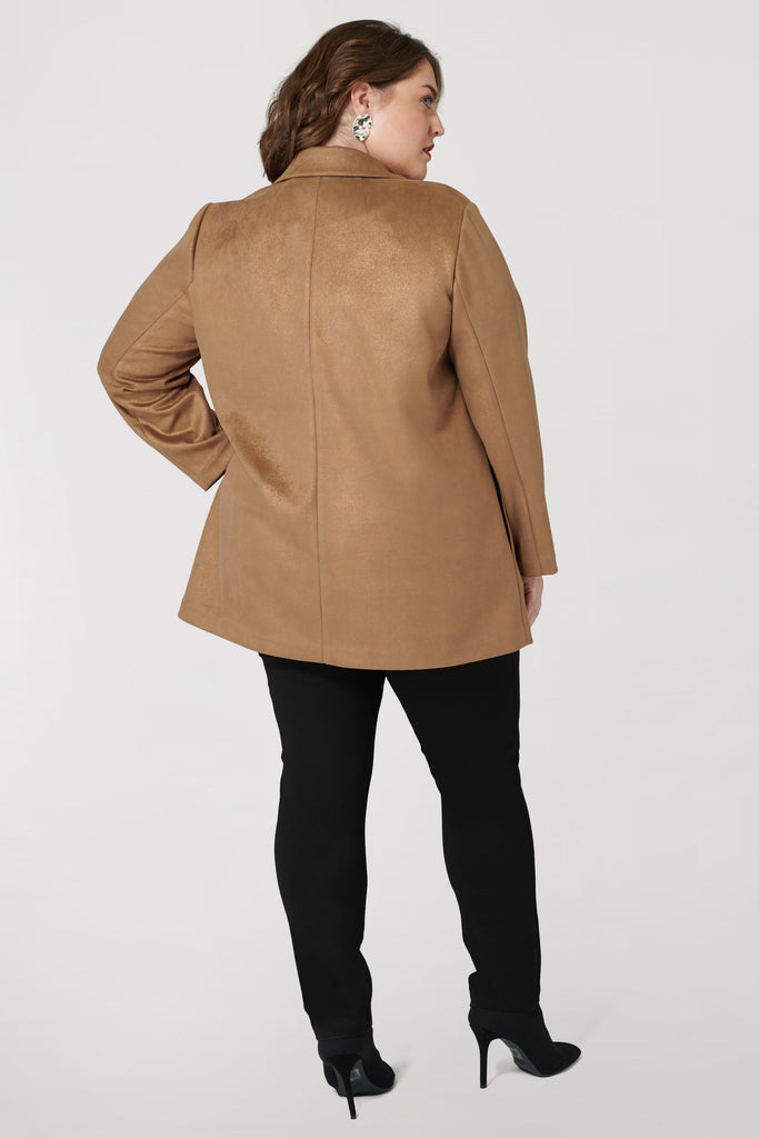 Metallic Suede Jacket - **50% off with discount code Winter50**