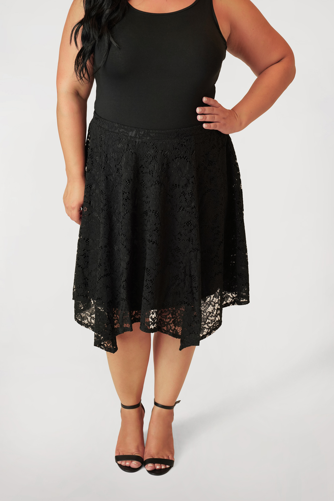 Lace Handkerchief Skirt